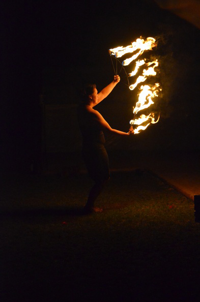 Fire Fans Fire Show Charlotte NC
