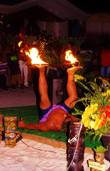 Samoan Fire Kinfe Dancer